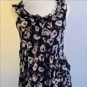 Sleeveless Hazel ruffled blouse